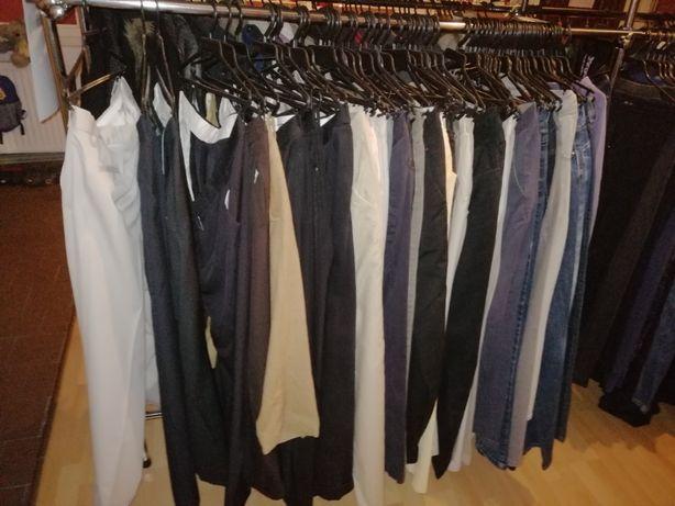 likwidacja sklepu używane spodnie męskie całość 30 sztuk