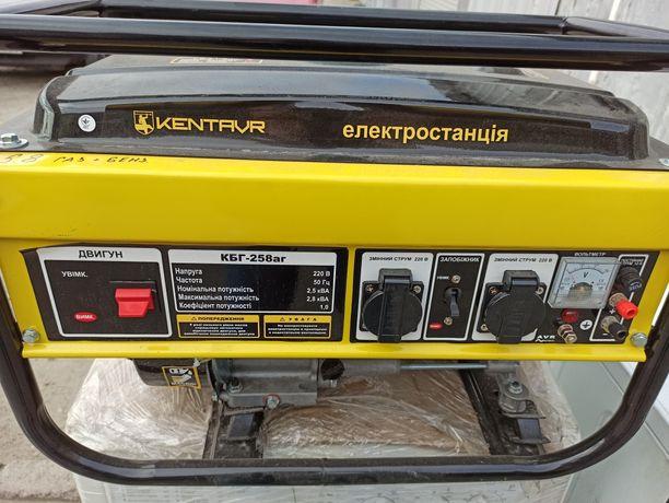 Продам генераторы Vitals ,Кентавр бензиновые, газ бензин.2,5 2.8 ква