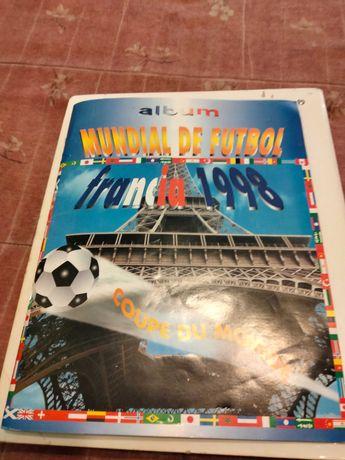 Caderneta completa Mundial de França 98
