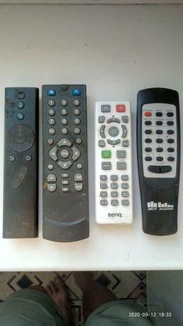 Пульты б/у для телевизоров и аудио системы