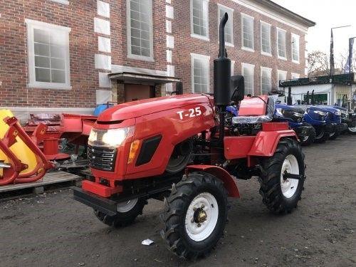 Трактор Зубр Т25 +фреза +плуг2К. Мототрактор, мінітрактор гарантія 2р