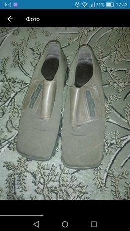 Новве дизайнерские ботинки. Р 40