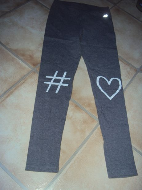 Legginsy 4F stan jak nowe spodnie szare 158/164 xs/s