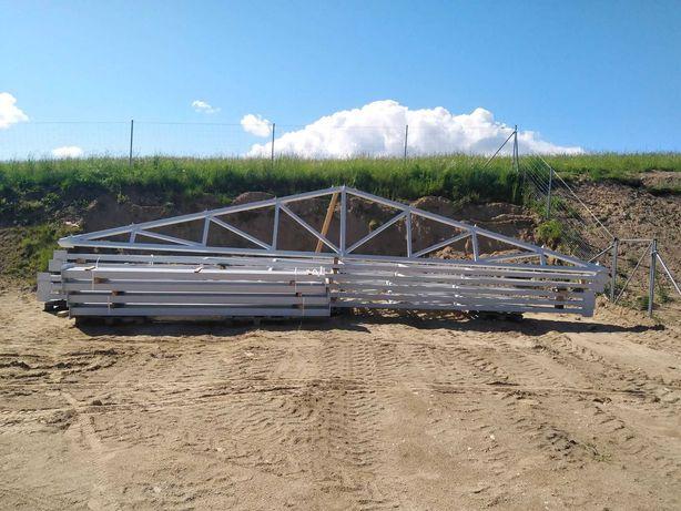 Konstrukcja stalowa hali wiaty warsztatu obory stajni 10x20x4 NOWA