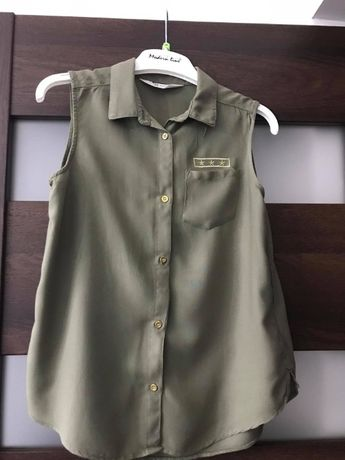 Koszula bez rękawów H&M ROZ. 152 STAN IDEALNY