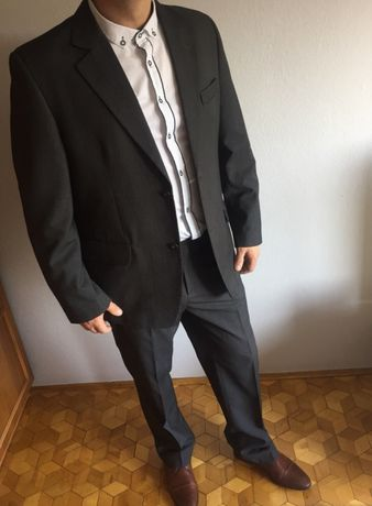 Męski garnitur Katex ślub wesele Sylwester