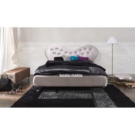 Łóżko do sypialni 160/200 AVANGARDE stylowe i wyjątkowe