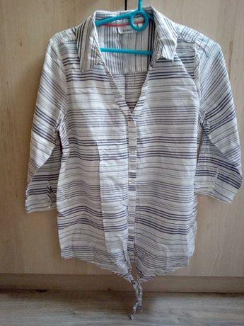 Koszula ciążowa paski 38 M C&A letnia