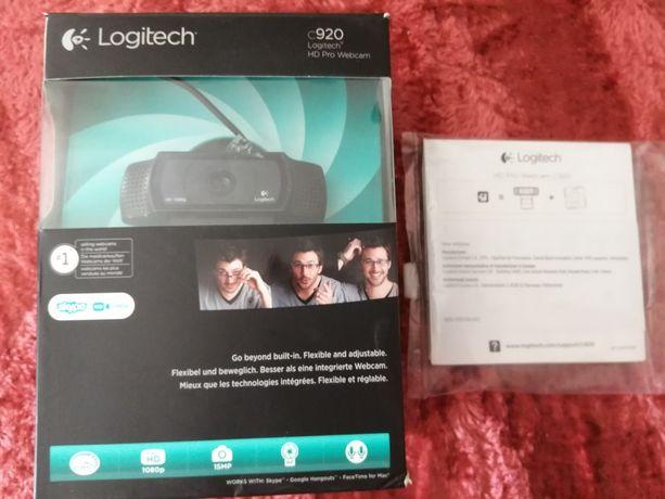 Logitech HD PRO C-920 (STAN BDB, jak nowa)