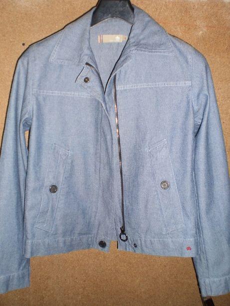 Жакет-куртка-пиджак женский джинсовый, бренд Thomas Burberry р 42-44 S