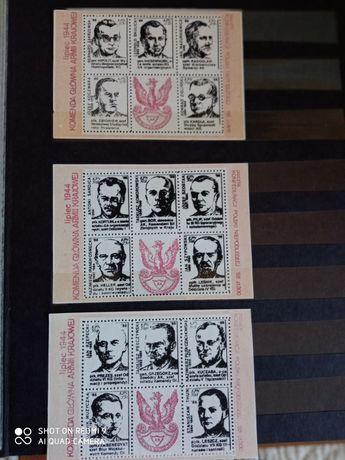 Stare znaczki Solidarność