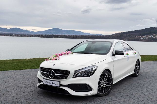 Samochód do ślubu Mercedes-Benz CLA