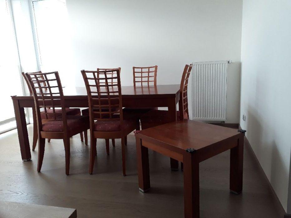 Stół rozkładany+ stolik kawowy+ 6 krzeseł Gdańsk - image 1