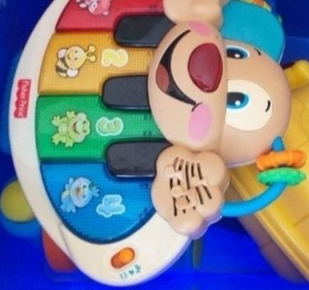 Pianinko organki Fisher Price