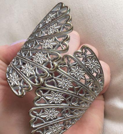Bransoletka metalowa Skrzydła Nietuzinkowa Nowa Oryginalna