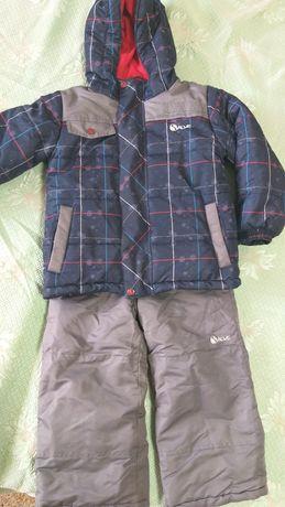 Лыжный зимний костюм Gusti