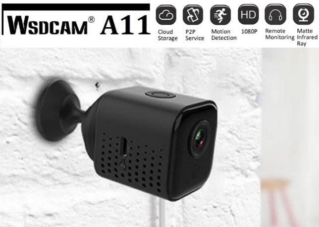 Мини wifi IP камера Wsdcam A11 удаленного доступа P2P датчик движения