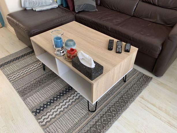 Stolik kawowy ława 60X90x45 loft industrialny NOWY