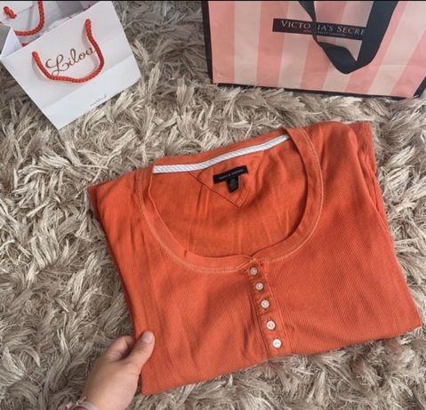 Pomarańczowa Bluzka Tommy Hilfiger