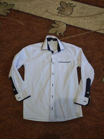 Biała koszula rozm 152