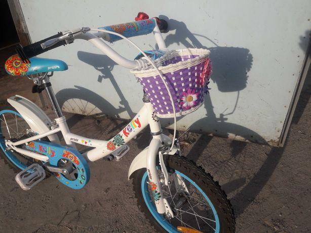 Детский качественный велосипед велосипед Pride Kelly 16