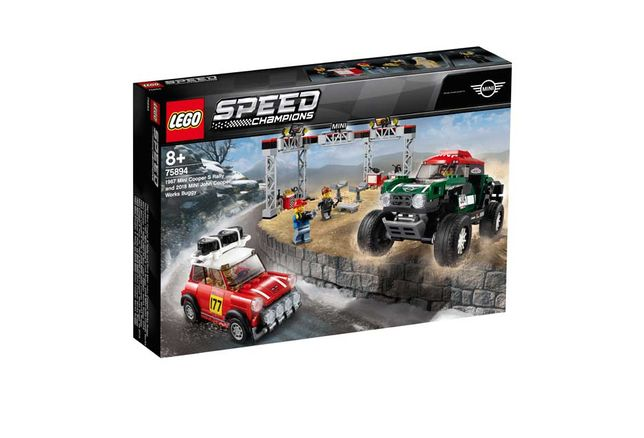 LEGO 75894 Mini 1967 Cooper S Rally-2018 MINI John Cooper Works Buggy