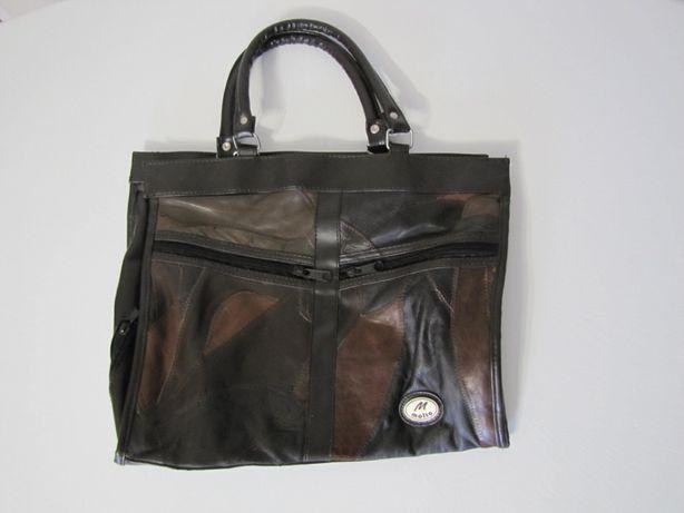 Śliczna skórzana torba