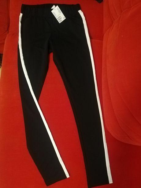 Spodnie dziewczęce H&M r. M