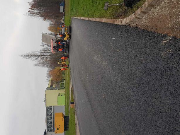 Ukladanie asfaltu