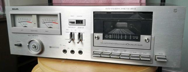 Magnetofon Philips N5151 stereo cassette deck