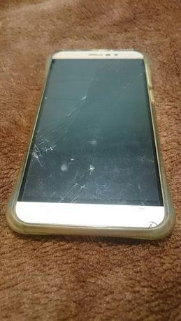 Smartfon Cubot Note S zbity ekran na części + etui case płyta główka