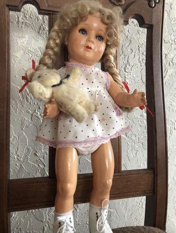 Кукла старинная времен ссср 46 см