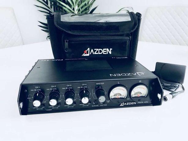 Mesa Áudio Portátil - Azden FMX-42a Field Mixer