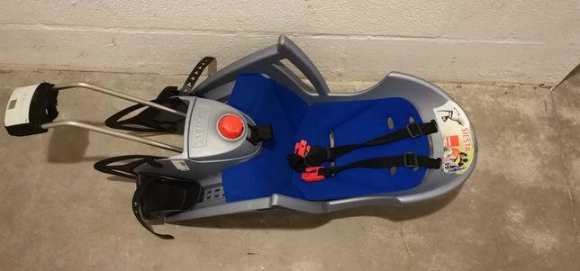 Cadeira de bicicleta para bebé Hamax Decathlon