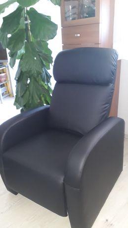 Rozkładany fotel masujący z Jysk - stan idealny
