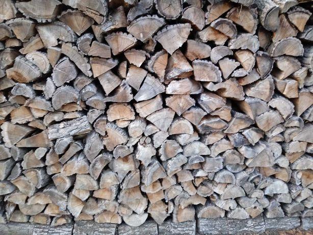 Drewno opałowe kominkowe sezonowane