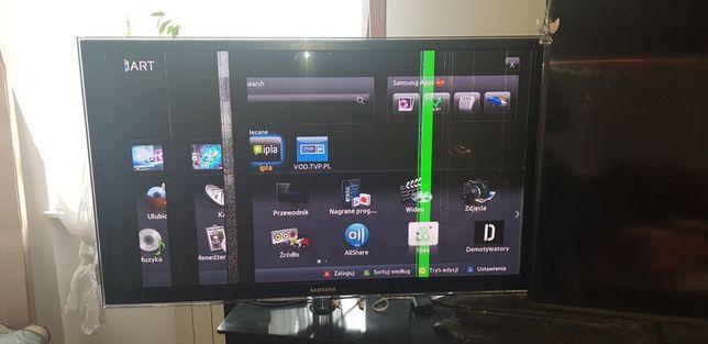 Telewizor Samsung 51uszkodzony na części pilne
