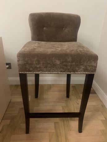 Krzesło tapicerowane sztuk 3
