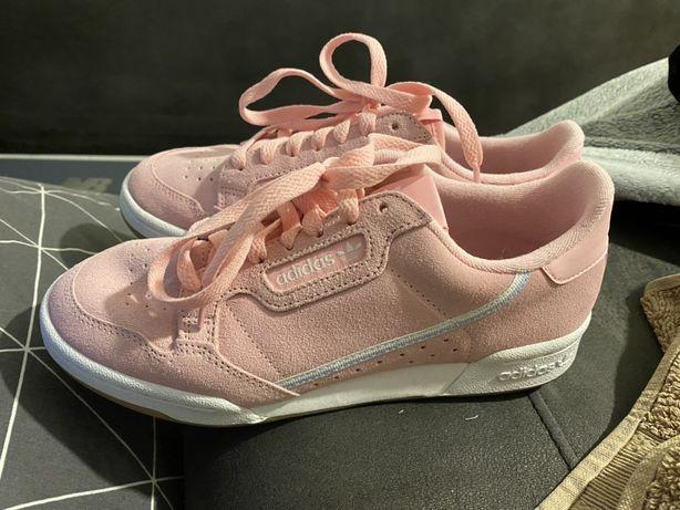 Damskie buty adidas continental różowe 39 i 1/3