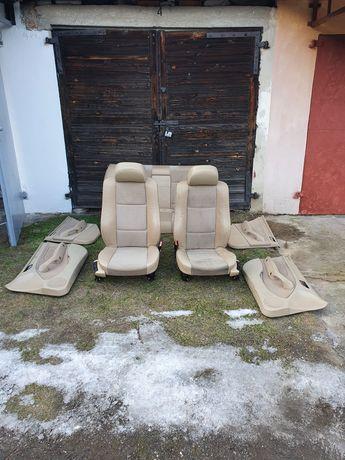 Fotele bmw e46 sedan półskóry