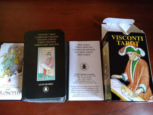 Tarot Visconti mini, Edições Lo Scarabeo
