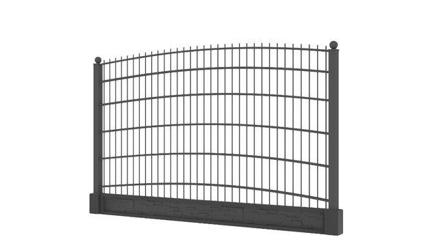 Nowoczesne ogrodzenia, panele 2D ozdobne, panel ozdobny