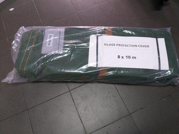 Siatka ochronna na pryzmy i silosy 220 g/m2 - zabezpiecza folię