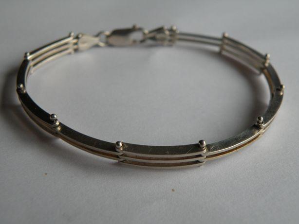 srebrna bransoletka proba 925 a148