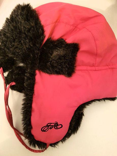 4F czapka 57 zimowa futerko Pilotka ###