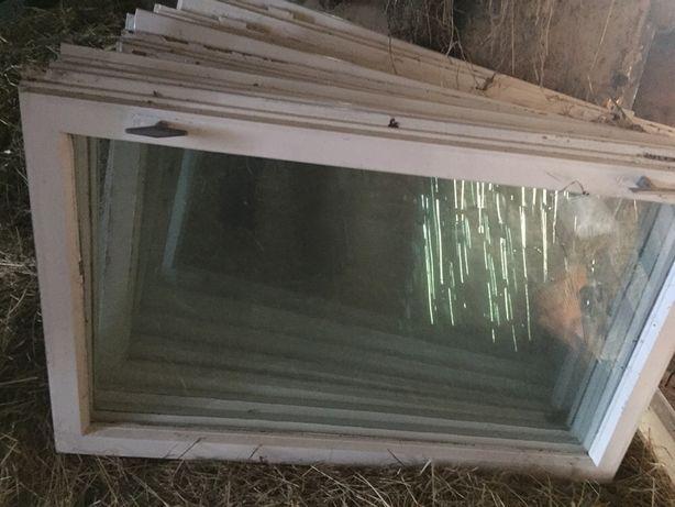 Skrzydło okienne dwuszybowe drewniane
