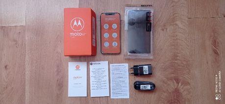 MOTOROLA E6 32GB Dual SIM Nowa Salon Gwarancja Etui Czarne