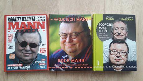 Kroniki wariata Rock mann Podróże małe i duże Wojciech Mann