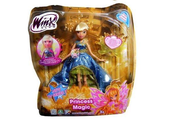 Кукла Winx Поющие Принцессы Стелла