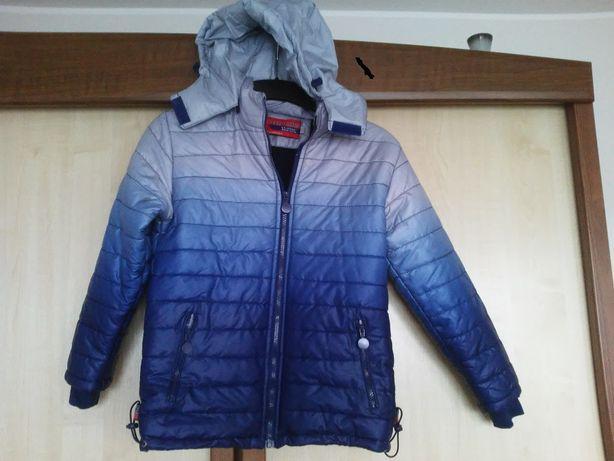 kurtka wiosenna- rozmiar orientacyjny 140-158cm NOWA